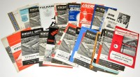 Lot 82 - Newcastle United football programmes, for the...