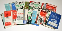 Lot 83 - Newcastle United football programmes, for the...