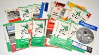 Lot 84 - Newcastle United football programmes (H) and...
