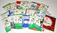 Lot 86 - Newcastle United football programmes, for the...
