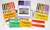 Lot 87 - Newcastle United v Dundee United (H) and (A)...