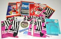 Lot 90 - A near full season 1971-72 Newcastle United...