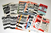 Lot 91 - Newcastle United football programmes, for the...