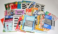 Lot 94 - Newcastle United football programmes, for the...