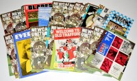Lot 95 - Newcastle United football programmes, for the...