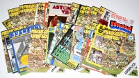 Lot 97 - Newcastle United football programmes, for the...