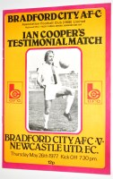 Lot 99 - Bradford City v Newcastle United, May 26th...