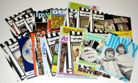 Lot 100 - Newcastle United (H) and (A) programmes, for...