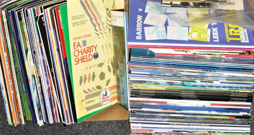 Lot 195-Newcastle United football programmes for the...
