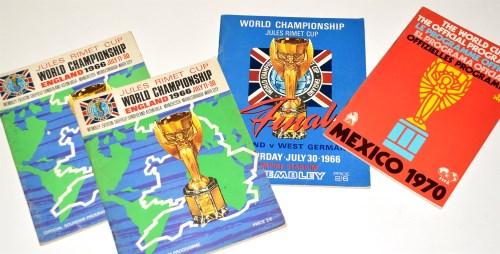 Lot 197-A World Cup 1966 Final programme, England v West...