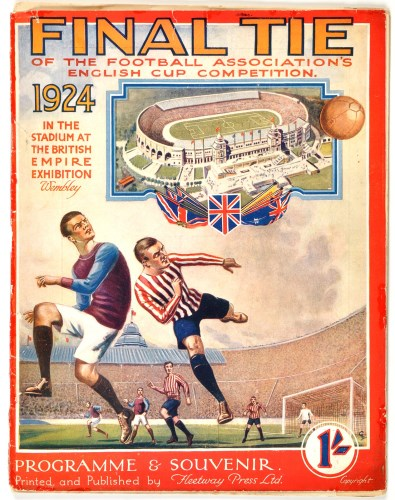 Lot 214-FA Cup Final programme, 1924 - Newcastle United v ...