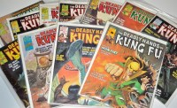 Lot 1003 - The Deadly Hands Of Kung Fu magazine, sundry...