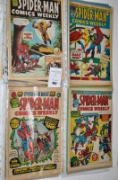 Lot 1007 - Spider-Man Comics Weekly (British Issue) a...