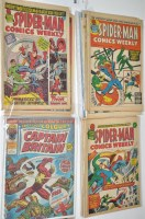Lot 1008 - Spider-Man Comics Weekly (British Issue) a...