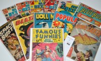 Lot 1016 - Famous Funnies: featuring Buck Rogers No.211,...