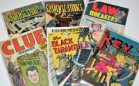 Lot 1018 - The Black Tarantula No.5, by Hero Books 1949,...