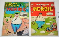 Lot 1020 - Herbie No.1 and Forbidden Worlds Presents...