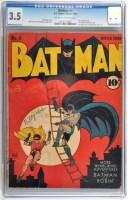 Lot 1031 - Batman No.4. - Winter Issue 1940, slab-sealed...