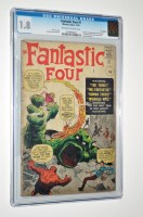 Lot 1032 - The Fantastic Four No.1 November 1961 - first...