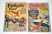 Lot 1034 - The Fantastic Four Nos.3 and 4. (2)