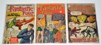 Lot 1035 - The Fantastic Four Nos.8-10 inclusive. (3)