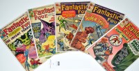 Lot 1038 - Fantastic Four Nos.16, 18, 20, 21 and 24. (5)