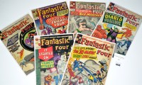 Lot 1039 - Fantastic Four Nos.28-30, 33, 36, and 38. (6)
