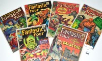 Lot 1040 - Fantastic Four Nos.48, 49, 51, 62, 63, and 65....