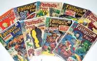 Lot 1041 - Fantastic Four Nos.65-71, 74 and 75. (9)