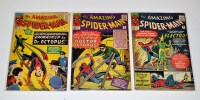 Lot 1047 - The Amazing Spider-Man Nos.9, 11 and 12. (3)