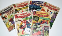 Lot 1048 - The Amazing Spider-Man Nos.14, 16, and 21-24. (6)