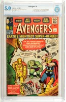 Lot 1052 - The Avengers No.1 - first printing September...