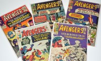 Lot 1062 - The Avengers Nos.14-16, 18 and 19. (5)