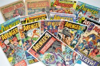 Lot 1064 - The Avengers Nos.27 and 28, 39, 43, 72, 76, 94,...