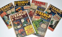 Lot 1076 - Strange Tales Nos.89, 92, 94, 95, 98 and 100. (6)