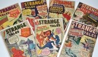 Lot 1078 - Strange Tales Nos.103, 108 and 109, 111,...