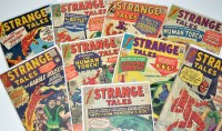 Lot 1079 - Strange Tales Nos.109, 115, 117-119, and...