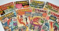 Lot 1080 - Strange Tales Nos.118, 121, 122, 124, 125, 128,...