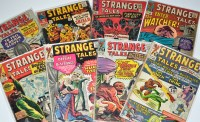 Lot 1081 - Strange Tales Nos.128-131, 134, 136, 142 and...
