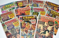 Lot 1083 - Strange Tales Nos.141-150 inclusive, and 183....