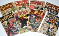 Lot 1087 - Tales Of Suspense Nos.10, 15, 21, 24, 27, 34,...