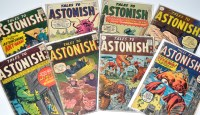 Lot 1097 - Tales To Astonish Nos.10, 29, 33, 34, 36, 37,...