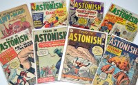 Lot 1098 - Tales To Astonish Nos.10, 36, 37, 47, 50-52,...