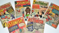 Lot 1099 - Tales To Astonish Nos.41, 42, and 46-49. (6)