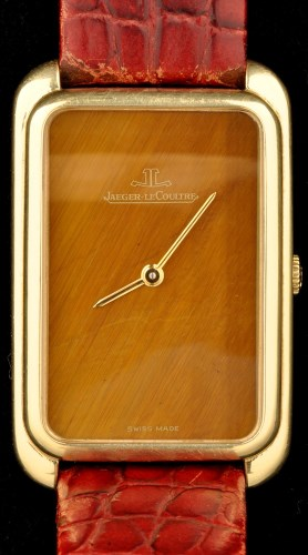 Lot 701-Jaeger LeCoultre: an 18ct yellow gold cased...