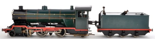 Lot 1058-A scratch built live steam model locomotive...