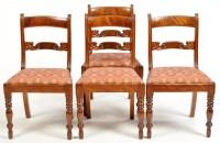Lot 1324-A Regency mahogany rectangular-shaped tip-up-top...