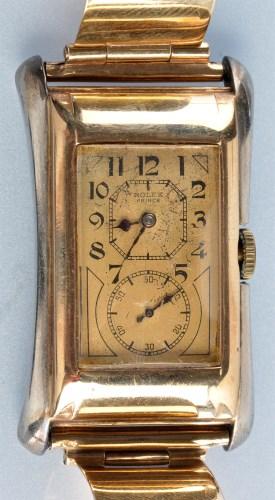 Lot 934-Rolex Prince: a 1930's gentleman's two colour...