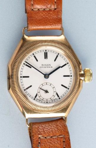 Lot 935-Rolex Oyster: a gentleman's 9ct. gold...