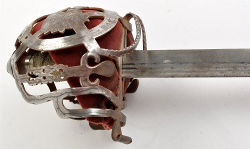Lot 1055-An 18th Century Scottish broad sword, for the...